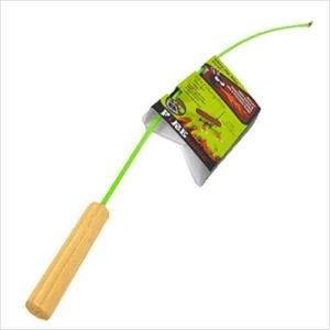 fishing pole campfire roaster