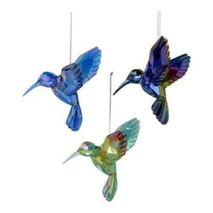 humming bird christmas ornament