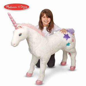 melissa & doug giant unicorn stuffed animal