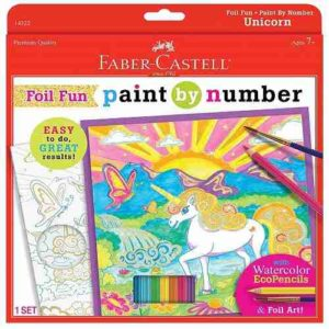 unicorn paint by number